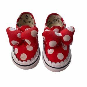 Vans authentic Disney gore Minnie Mouse bow 4.5